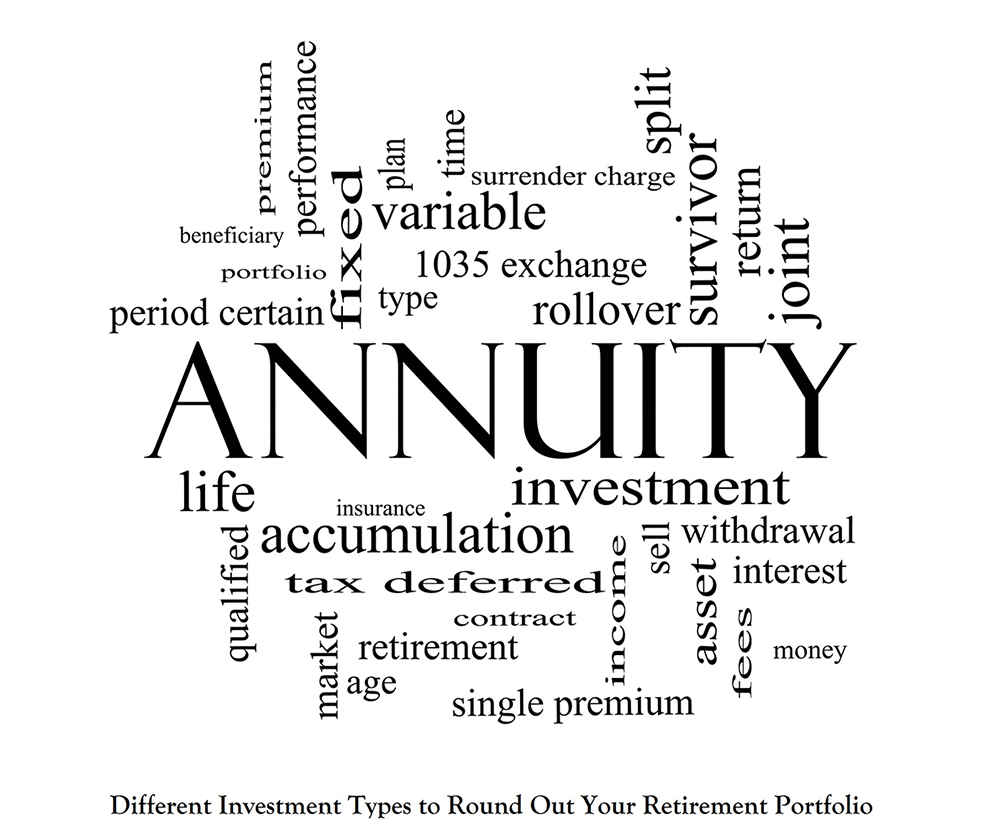 Different Investment Types to Round Out Your Retirement Portfolio